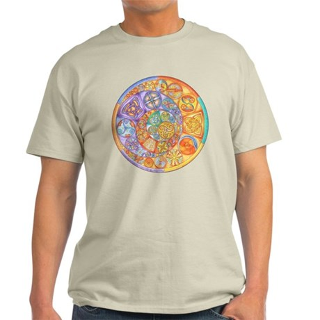 Rainbow Crescents Light T-Shirt