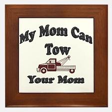 Cool Tow truck Framed Tile