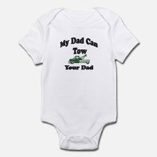 my tow dad green Body Suit