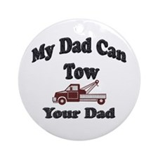 Cute Tow Ornament (Round)