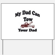 Unique Tow truck Yard Sign