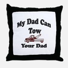 Cute Tow truck Throw Pillow
