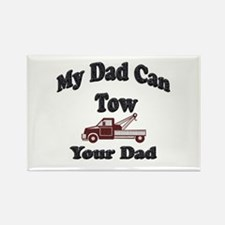 Cute Towing Rectangle Magnet