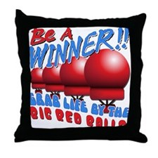 Grab Life by the BRB Throw Pillow