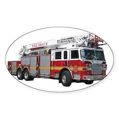 Firetruck Design Decal