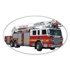 Firetruck Design Decal