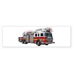 Firetruck Design Bumper Sticker