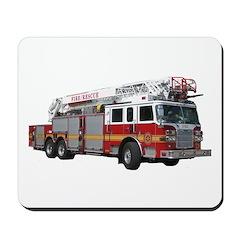 Firetruck Design Mousepad