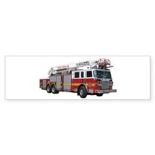 Firetruck Design Bumper Sticker