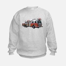 Firetruck Design Sweatshirt