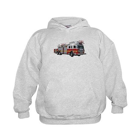 Firetruck Design Kids Hoodie