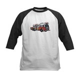 Firefighter Baseball T-Shirt