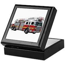 Firetruck Design Keepsake Box