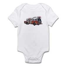 Firetruck Design Infant Bodysuit