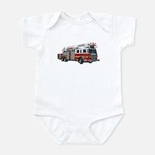 Firetruck Design Infant Bodysuit