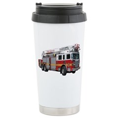 Firetruck Design Stainless Steel Travel Mug