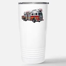 Firetruck Design Stainless Steel Travel Mug