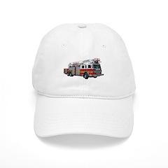 Firetruck Design Baseball Cap