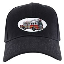 Firetruck Design Baseball Hat