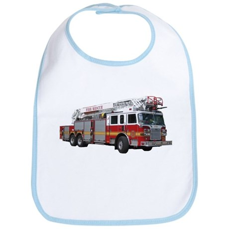Firetruck Design Bib