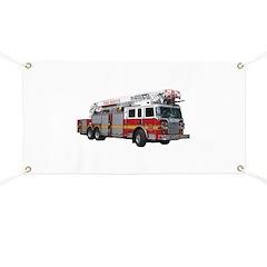 Firetruck Design Banner