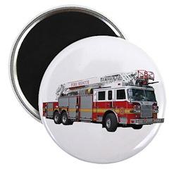 """Firetruck Design 2.25"""" Magnet (10 pack)"""