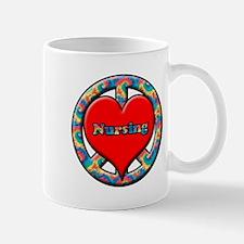 Cute Peace love doctor Mug