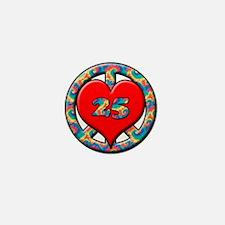 Cute Fifth birthday Mini Button