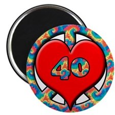 Funny 40 year old birthday Magnet