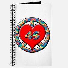 Cute 45 anniversary Journal