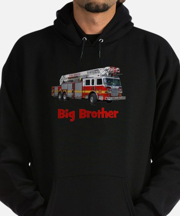 Big Brother Fire Truck Hoodie (dark)