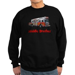 Middle Brother Fire Truck Sweatshirt