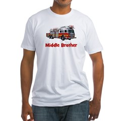 Middle Brother Fire Truck Shirt
