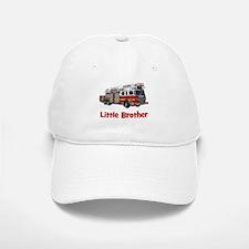 Little Brother Fire Truck Baseball Baseball Cap