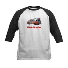 Little Brother Fire Truck Tee