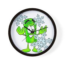 Mr. Deal - Frozen Credit Wall Clock