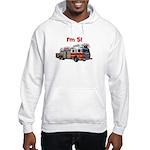 I'm 5! Firetruck Hooded Sweatshirt