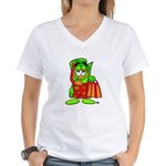Mr. Deal - Buck On Vacation - Women's V-Neck T-Shi