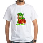 Mr. Deal - Buck On Vacation - White T-Shirt