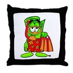 Mr. Deal - Buck On Vacation - Throw Pillow