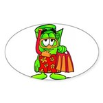 Mr. Deal - Buck On Vacation - Sticker (Oval)