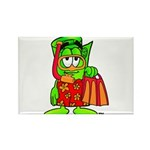 Mr. Deal - Buck On Vacation - Rectangle Magnet (10