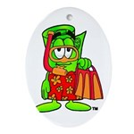Mr. Deal - Buck On Vacation - Ornament (Oval)