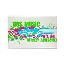 80s Music. It's, Like, Totally Awesome! Rectangle