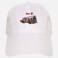 I'm 2! Fire Truck Baseball Baseball Cap