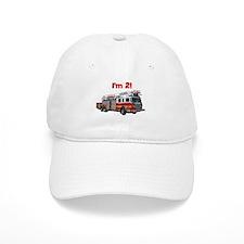 I'm 2! Fire Truck Baseball Cap