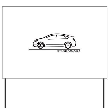Toyota Prius Yard Sign