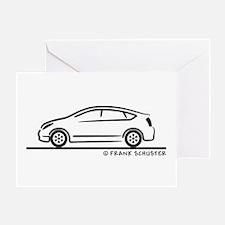 Toyota Prius Greeting Card