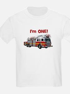 I'm ONE! Fire Truck T-Shirt