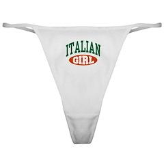 Italian Girl Classic Thong